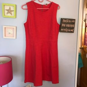 Pink jcrew shift dress